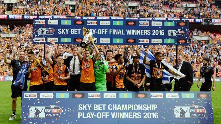Triumph im 225-Mio-Euro-Spiel: Hull kehrt in Premier League zurück.  Im 170-Millionen-Pfund-Spiel hat Hull City die direkte Rückkehr in die Premier League geschafft.