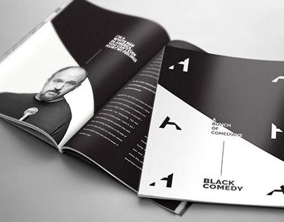 "Check out new work on my @Behance portfolio: ""Black Comedy Magazine"" http://be.net/gallery/54282397/Black-Comedy-Magazine"