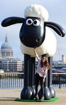 Shaun the Sheep statue unveiled - Telegraph