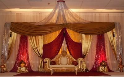 indian wedding decorations   South Asian Wedding decoration