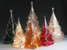 stained glass christmas ornaments google search - Glass Christmas Decorations
