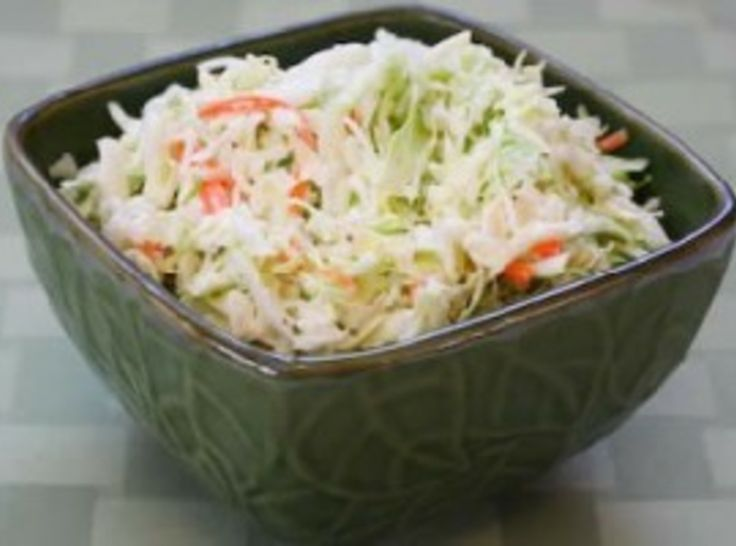 Overnight Cole Slaw #easter #recipes