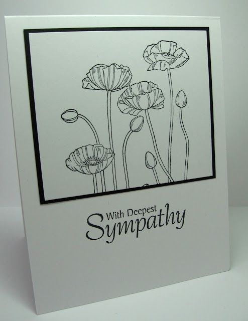 stamping up north with laurie: Stampin Up poppy card