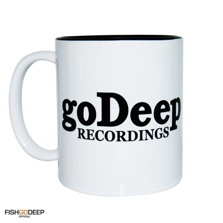 Fish Go Deep Go Deep Recordings Label Logo Mug & Tin From HairyBaby.Com