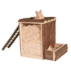 Digging Tower for Hamster 255x20x245cm Small Animal Toys for Sale/ this would be good to make!
