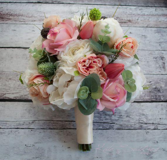 Bouquet di Peonia Peonia Ranunculus Rose Garden di KateSaidYes