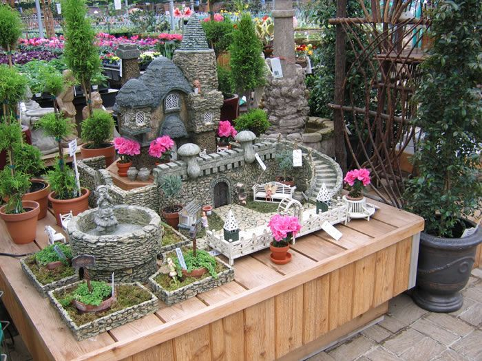 Large Fairy Garden Ideas photo by barbara stanley Fairy Houses For The Garden Large Fairys Garden Miniature Primrose Cottage 27 25