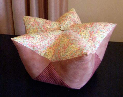 Star Fruit Cushion Tutorial