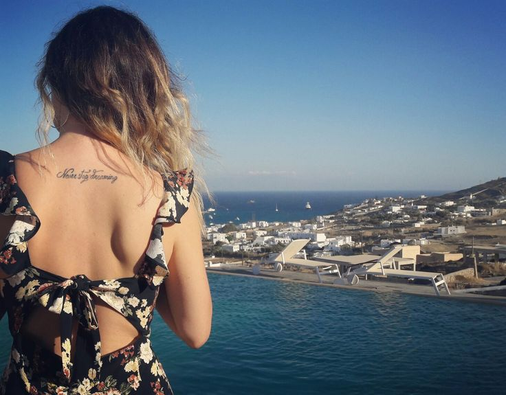 #summeroutfit #summer #tattoo #mykonos #vacations