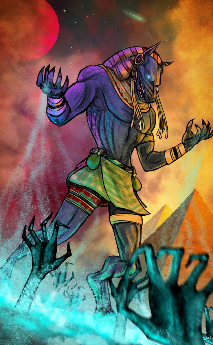 Anubis and his Grasping Hands | Anubis | God of the Dead ...
