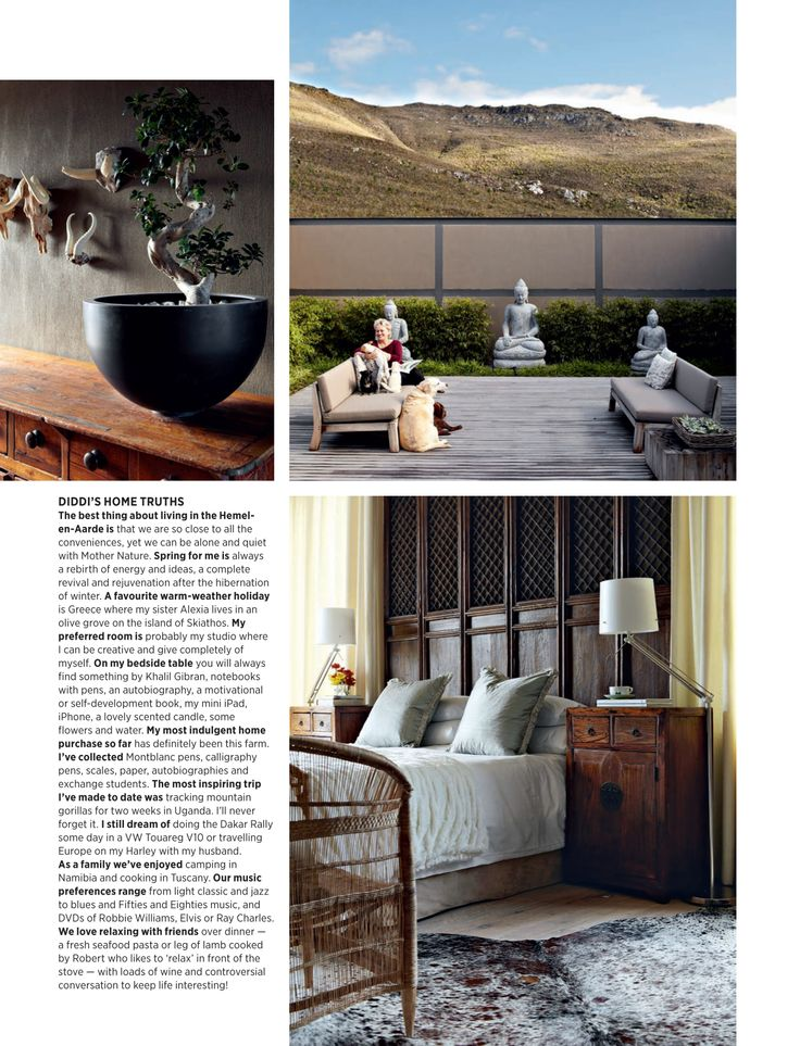 House and Leisure, 'Mountain Magic', Issue 230 October 2013 pg 06 - Charles van Breda Architects