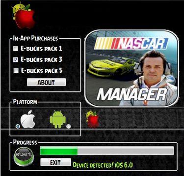 Nascar Manager Hack