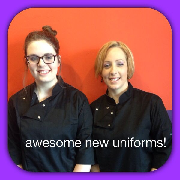 New uniforms have arrived :)