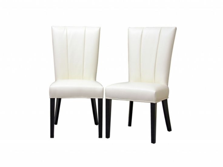 Best 25 White leather dining chairs ideas on Pinterest Leather