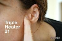 Press this point for ear pain and infections, and tinnitus  Triple Heater 21 is a go-to point for ear pain, ear infections, and tinnitus (ringing in the ears).   Sinus pressure commonly leads to discomfort in the ears, so if you're someone who deals with seasonal allergies, it's good to get acquainted with Triple Heater 21.