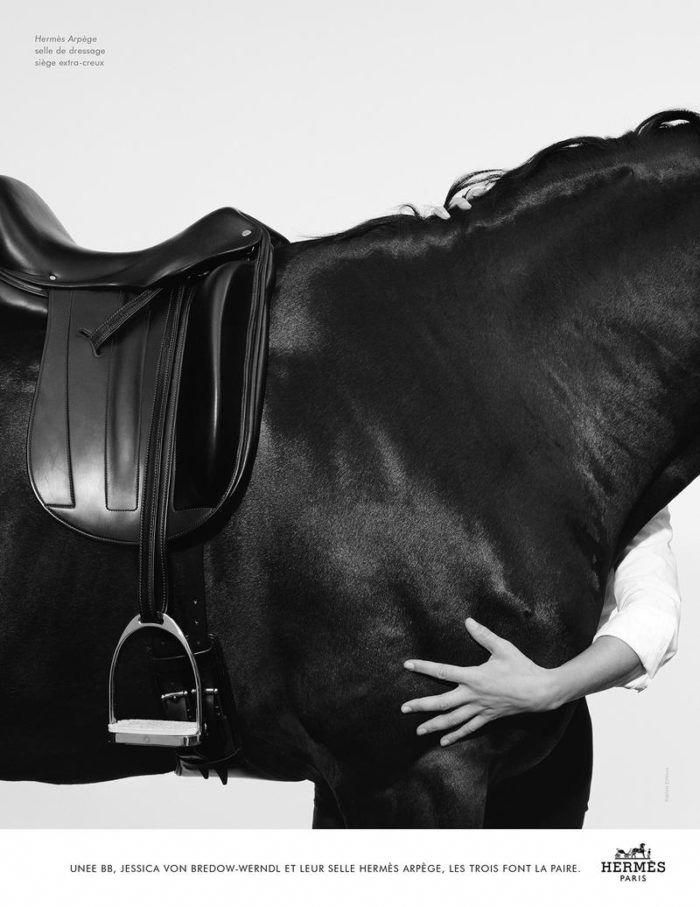 A Beautiful Black And White Fashion Image Of Hermes Equestrian Style Fashionshoot Model Horses Horseridin Equestrian Style Equestrian Outfits Equestrian