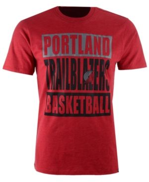 '47 Brand Men's Portland Trail Blazers Compton Club T-Shirt - Red