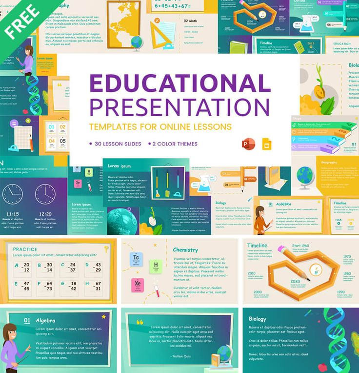 23 Great Free Google Slides and PowerPoint Templates for