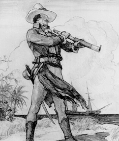 N.C. Wyeth ~ Jean Lafitte