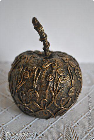Поделка изделие Папье-маше Мои пейп-артовский фруктики Салфетки фото 3