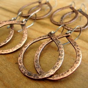 Love My Art Jewelry: Wire Work-Out Boot Camp - Cold Connection for Hoop Earrings! I especially love 20 gauge wire. I make all of my ear wires with 20 gauge, you can use 20 or 18 ga wire with this cold connection idea that I demo in the video below
