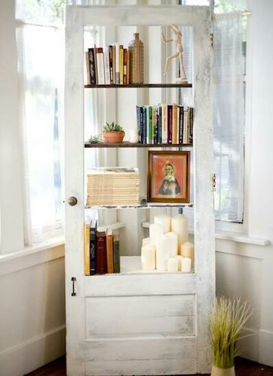 Great use of an old door!!