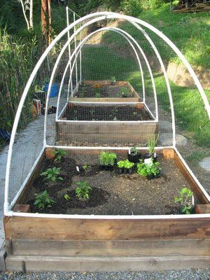 Diy raised bed covers this gives me hope that i might be Raised garden bed covers