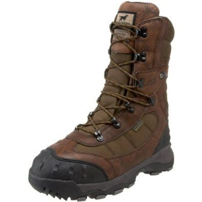 "Irish Setter Men's Snow Claw XT 12"" Insulated Boot Irish Setter. $189.95. Leather and cordura. Rubber sole. EVA with Thermal Boost Nanotechnology Midsole. Scent Ban technology. Snow Claw XT sole. 2,000g of Thinsulate Ultra insulation. Ultra Dry waterproof technology. Cement construction"