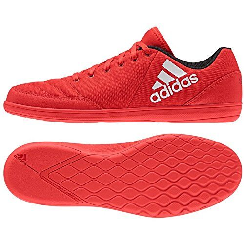 adidas Messi 16.4 Street futsal five-a-side man soccer football shoes boots red