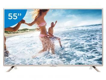 "TV LED 55"" LG 55LF5650 Full HD - Conversor Integrado 2 HDMI 1 USB"