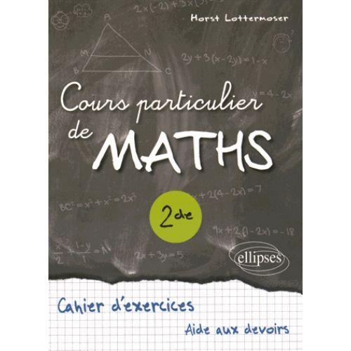Cours particulier maths 2de