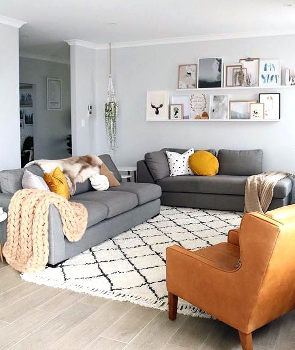 Fascinating Grey Living Room Couch
