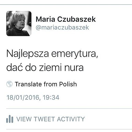 1939-2016 Z wielkim żalem informujemy, iż zmarła Maria Czubaszek :( Marysiu będzie nam Ciebie brakowało :(
