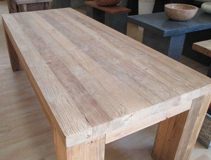 Oltre 25 fantastiche idee su tavoli da cucina su pinterest for Costruire tavolo legno rustico