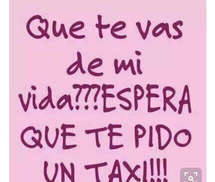Te pido un taxi XD