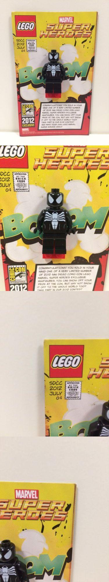 Minifigures 19001: Lego Comic Con Sdcc 2012 Black Spiderman Venom Minifigure Exclusive Rare -> BUY IT NOW ONLY: $400 on eBay!