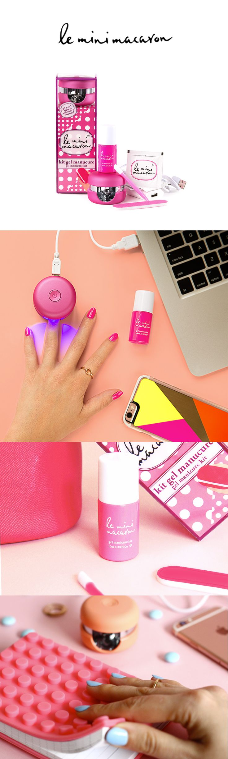 Getting gorgeous manis should fit your schedule. Check out how to get salon quality gel nails anytime, anywhere with Le Mini Macaron!