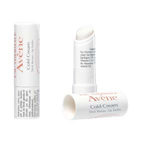 Avene stick al cold cream 4,5gr (stick levres au cold cream) Labios resecos, agrietados por agresiones medicamentosas, climáticas o químicas.
