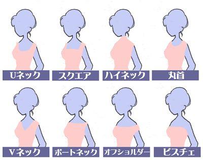 似合うかどうかで決めたいネックライン : これで完璧!ウェディングドレスの正しい選び方 - NAVER まとめ