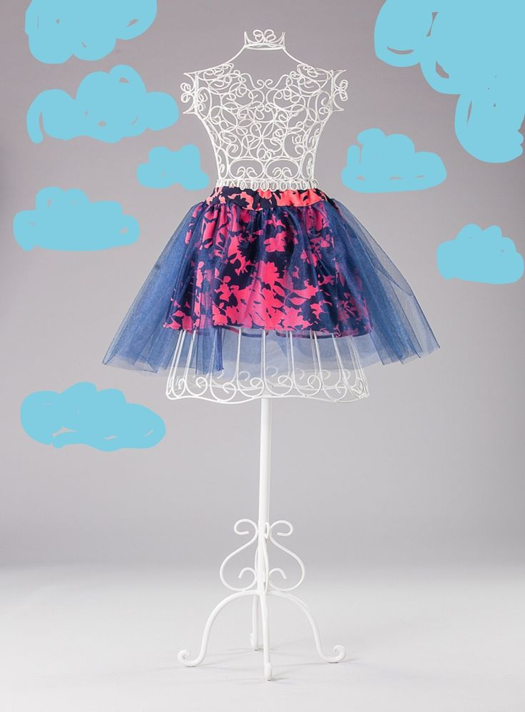 Skirt in the clouds.