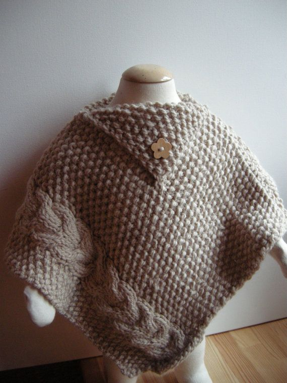 1000 Images About Baby Ponchos Knitting And Crochet