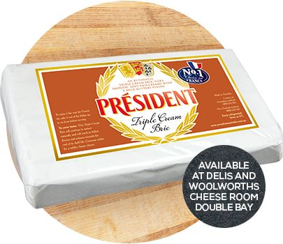 President Cheese - Triple Cream Brie