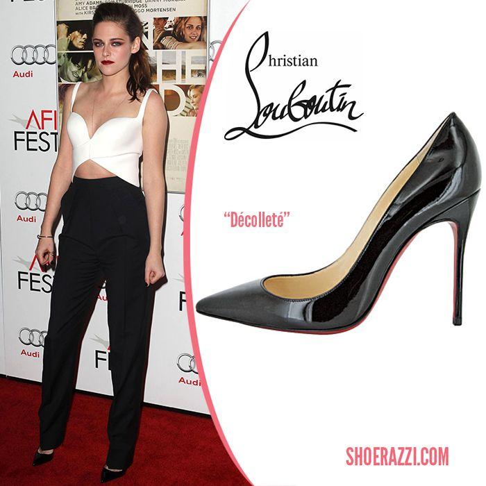 Kristen Stewart in Christian Louboutin