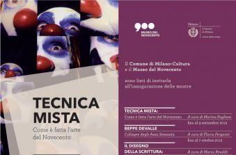 Tecnica mista. Come è fatta l'arte del novecento a Milano al Museo dl Novecento fino al 9 Settembre 2012