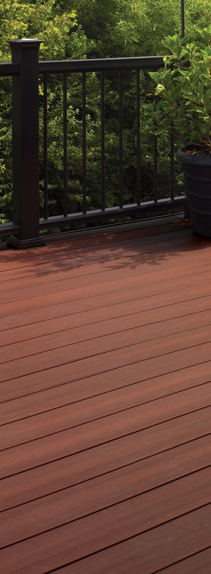 371 best images about composite decks by fiberon on for Vinyl decking materials