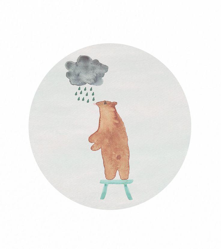 Jelena Matriszenka #watercolor #watercolorillustration #illustration #watercolorart #art #akwarele #creature #cute  #animal #artforkids #illustrationforkids #kids #floral #nature #bear #cutebear #bearillustration