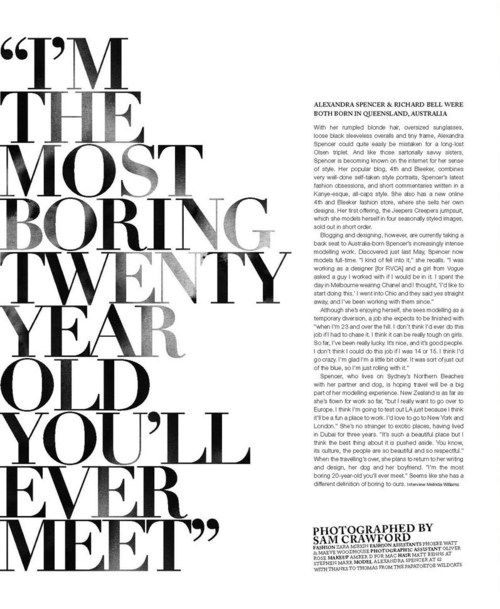 I'm The Most Boring Twenty Year Old You'll Ever Meet / #Typography #Design