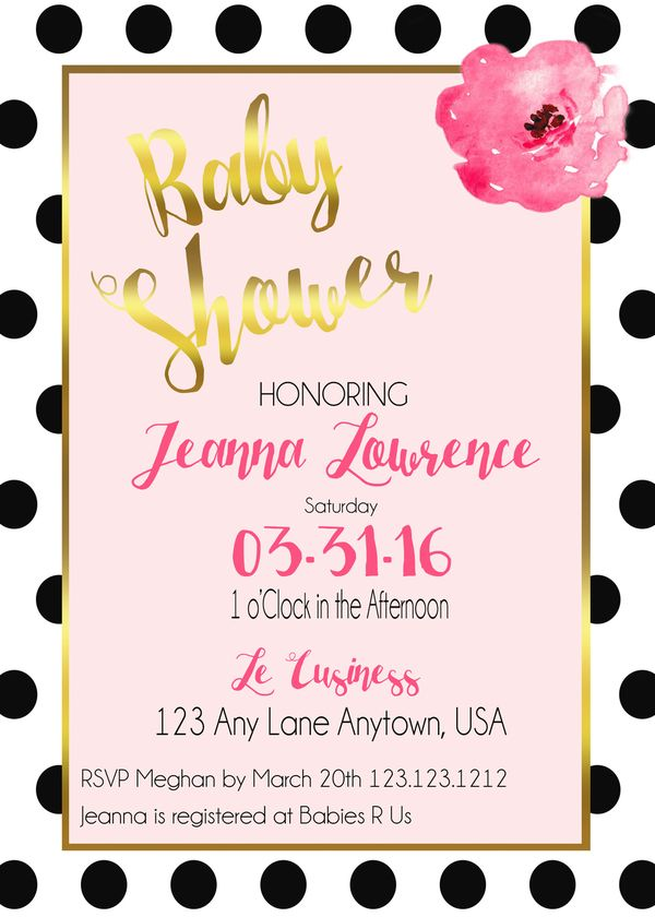 10 best design girl baby shower invitations images on pinterest kate spade inspired bay shower invitations this are eco friendly affordable and elegant baby filmwisefo Gallery