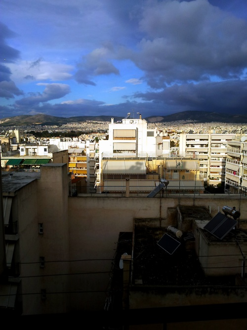 Cloudy Athens