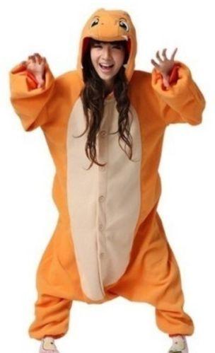 PIKACHU Pokemon Charmander Monster Animal Onesie Pajamas Hoodie Costume XMAS | eBay £16.99